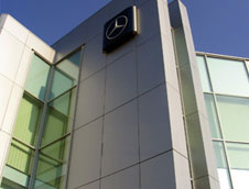 SA-FE Composite Metal Panels engineered for aluminum curtain wall systems and commercial facades offered in many colors.